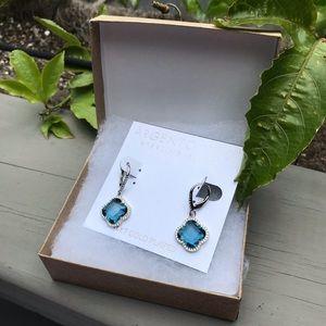 NWT 14K & sterling silver earring